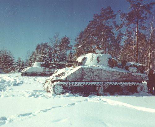 Icy Battle Of The Bulge - America in WWII