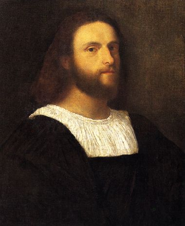 http://museolia.spezianet.it/images/opere/inv_182_big.jpg Titian. Portrait of a man. c.1510