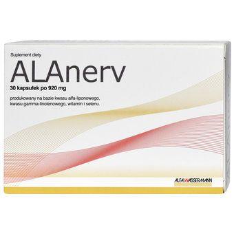 ALAnerv, 920 mg, kapsułki, 30 szt.