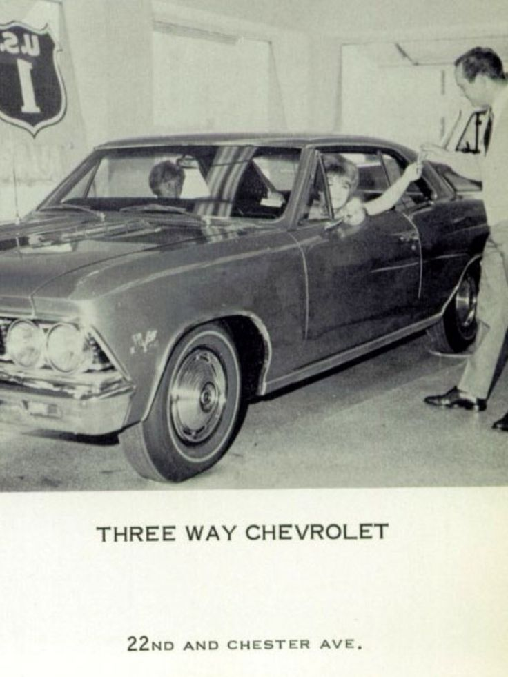 1966 Three Way Chevrolet Dealership, Bakersfield