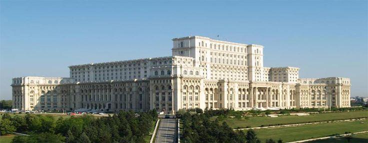 Bucarest le parlement