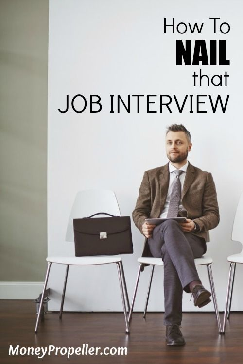Going in for a job interview is never an easy endeavour.  Reduce your stress and NAIL that job interview with these important tips.  http://moneypropeller.com/nail-job-interview/