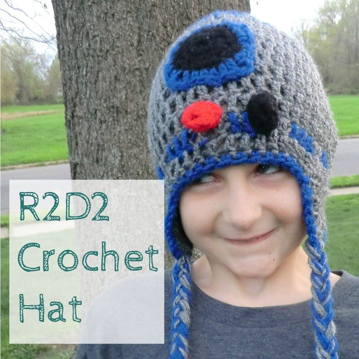 This month's #MovieMonday challenge is Star Wars. For my project, I'm sharing my crochet R2D2 hat I made for a big Star Wars fan.