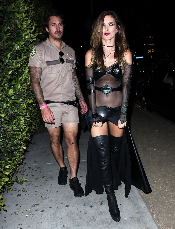 Young Hollywood Dresses Up For Matthew Morrison's Halloween Party: Just one week after his intimate wedding in Hawaii, Matthew Morrison threw his annual costume party at Hyde in LA.