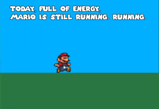 The Mario Bros Theme Song Has Actual Lyrics And They're A Goddamn Inspiration