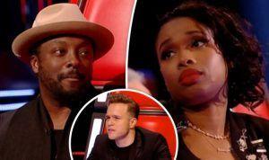 The Voice UK 2018 – Jennifer Hudson SNAPS at will.i.am after Olly 'FIGHT'   TV & Radio   Showbiz & TV – WORLD CENTER