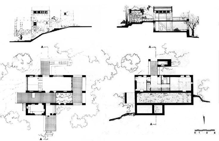 Atelier 66 (Dimitri and Souzana Antonakákis). Vacation House. Porto Cheli, Greece. 1967