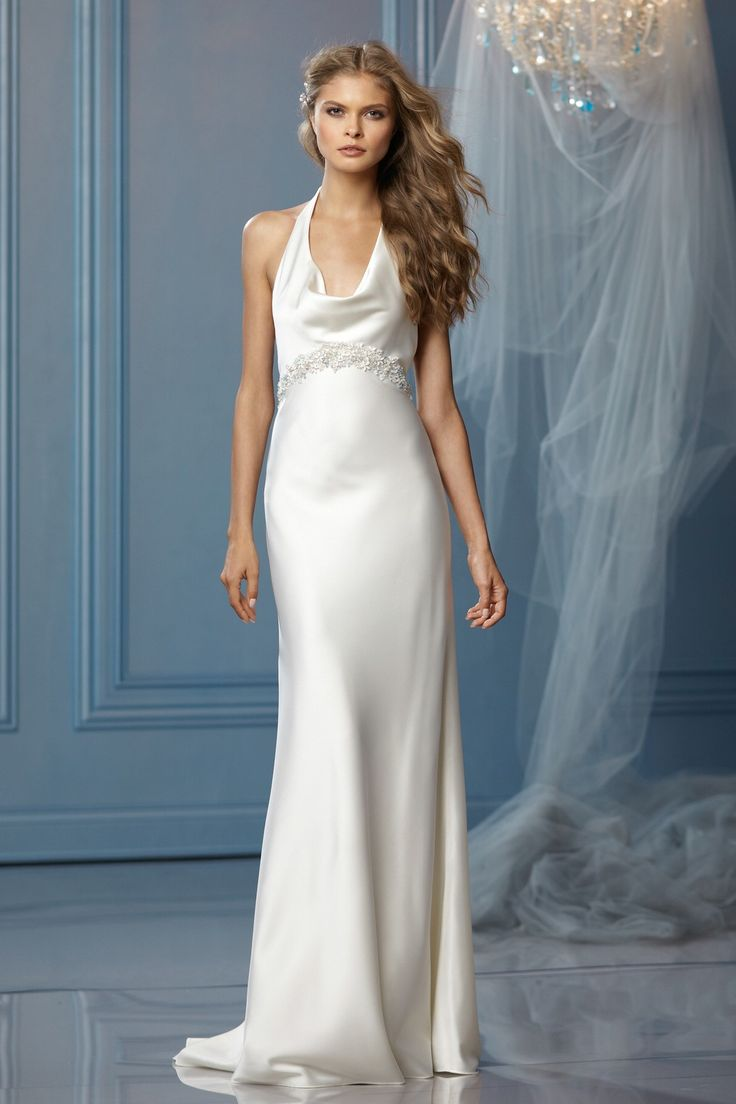 50 best Sheath/ Column Wedding Dresses images on Pinterest | Short ...