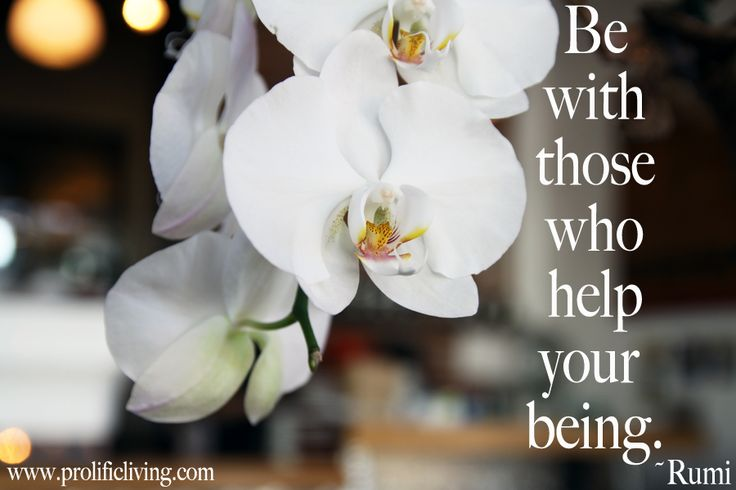 Be with those who help your being. ~Rumi  Love and truth is always the way with Rumi.  *Share if you *adore* Rumi!* and get more of his divine wisdom here: http://www.prolificliving.com/blog/2012/09/30/rumi-book-inspiration-with-love/
