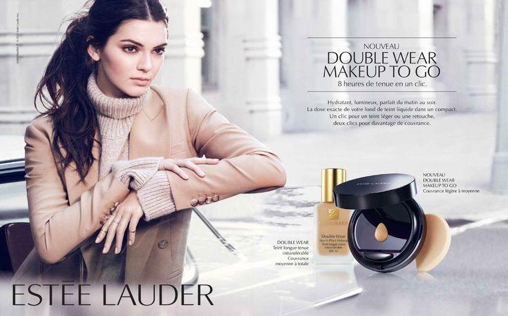 Estée Lauder Cosmetic Advertising with Kenner Jenner