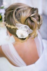 Flowergirl Hairstyle  California Weddings  Weddings on Style Me Pretty - Part 6