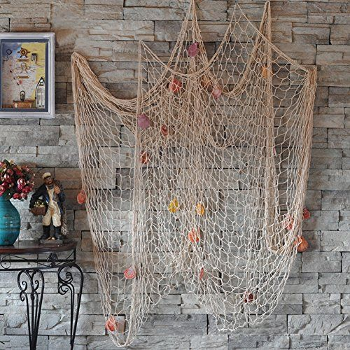 7.99 on Amazon Froomer Nautical Fishing Net Seaside Wall Beach Party Sea Shells Decoration Froomer http://www.amazon.com/dp/B0151FU5F8/ref=cm_sw_r_pi_dp_SfqQwb067YMR0