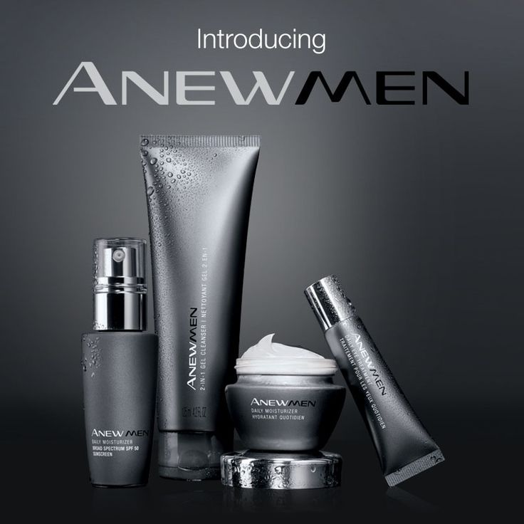 Introducing the first ever ANEW Men Collection! #ANEWyou