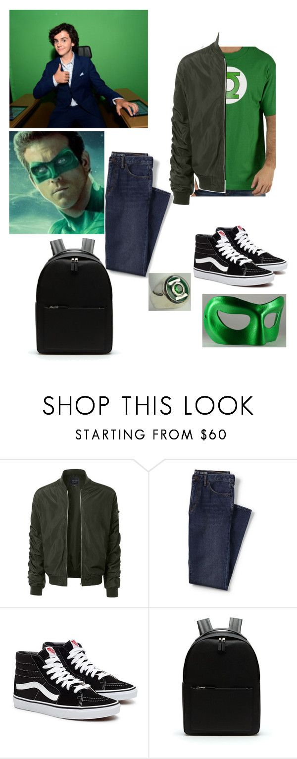 """""""chris Jordan son of Hal Jordan and Carol Ferris"""" by shyanne-andrade ❤ liked on Polyvore featuring LE3NO, Lands' End, Lacoste, Masquerade, men's fashion and menswear"""