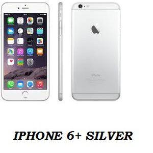IPHONE 6+ SILVER 128 GB GANARSI INTERNASIONAL 1 TAHUN