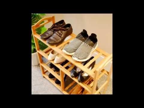 Ide Desain Rak Sepatu Mahal Modern