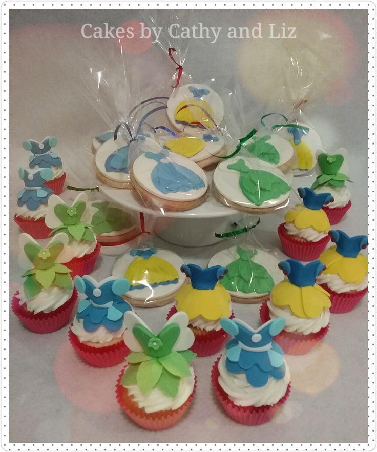 Princess cookies & cupcakes