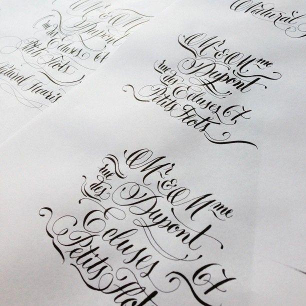 16 Best Houston Calligrapher Wedding Calligraphy Images