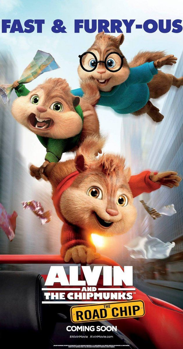 """Alvin and The Chipmunks: The Road Trip - 2015 - """"Cute, silly fun."""""""