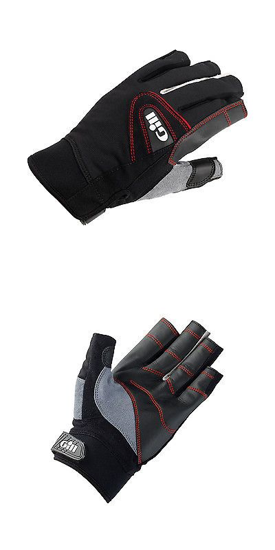 Other Fins Footwear and Gloves 159147: Gill Championship Short Finger Sailing Gloves 2017 - Black -> BUY IT NOW ONLY: $30.11 on eBay!