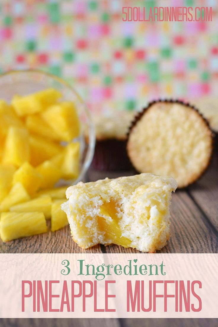 Pineapple muffin recipes easy