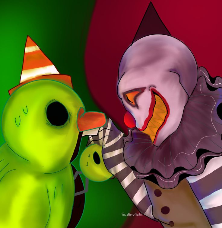 Dread Ducky And Clown Gremlin By SadinyLigth On DeviantArt