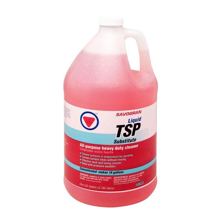 Savogran 10633 1 Gal Liquid Tsp Bleach Product Remove