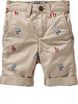 $15.00 Surf-Print Bermudas for Baby | Old Navy