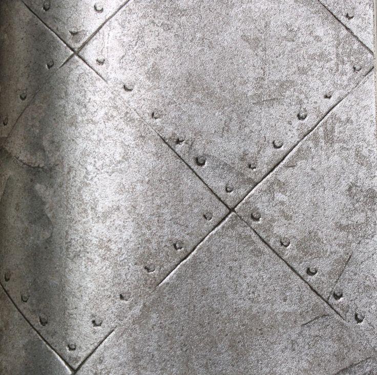 Beibehang Large Custom Wall Paper Cool Metal Texture: Astek Wallcovering: Woods