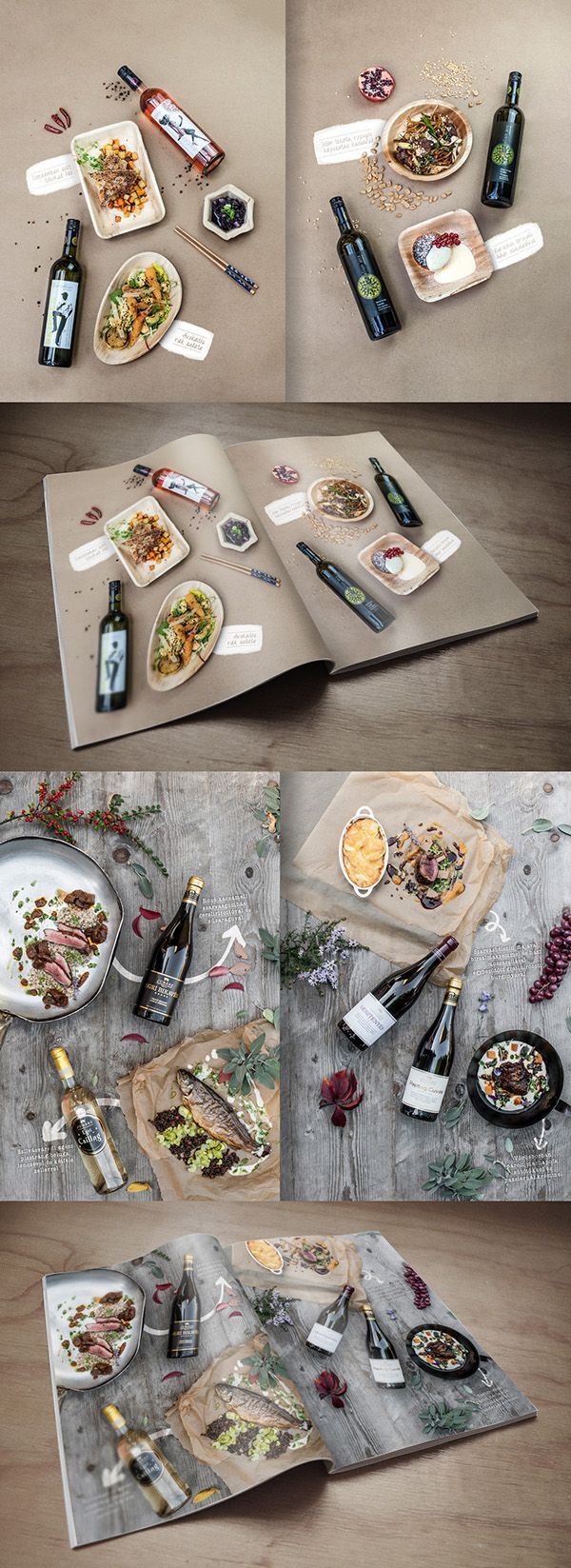 FOOD&WINE on Behance - Szendeff Lőrinc