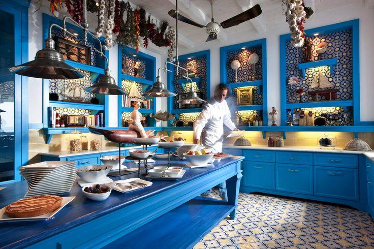Dessert room. Il Riccio - Capri. Yum!