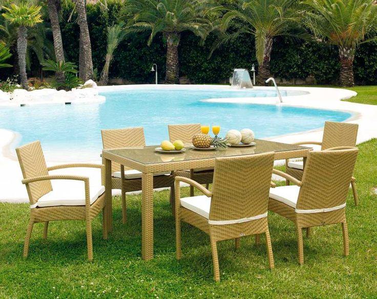 mesa comedor jardn formentera ambar muebles deco jardin http