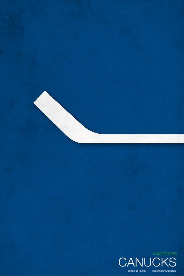 Minimalist Vancouver Canucks logo