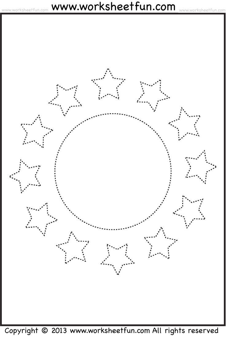 Uncategorized Star Worksheets 93 best images about tracing worksheets on pinterest fine motor sun stars worksheet