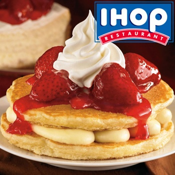 $10 for $20 at 19 San Diego @IHOP locations with today's deal.