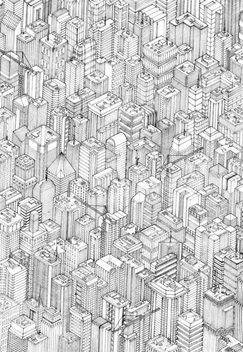 isometric urbanism pt.1  by Herds Of Birds.