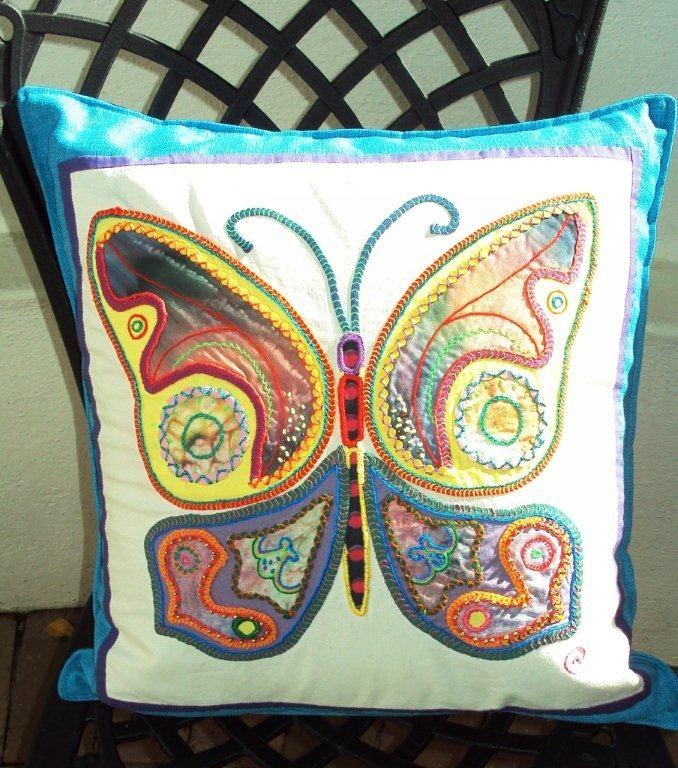 Sri Lankan appliqué butterfly