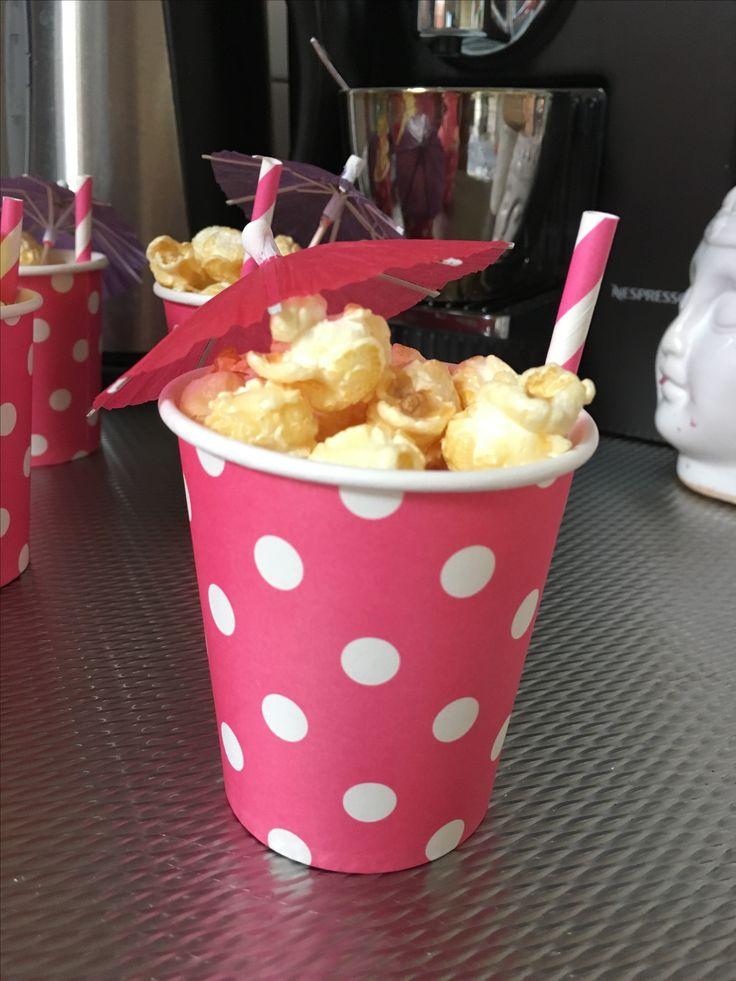 Popcorn cocktail | uitdeel traktatie