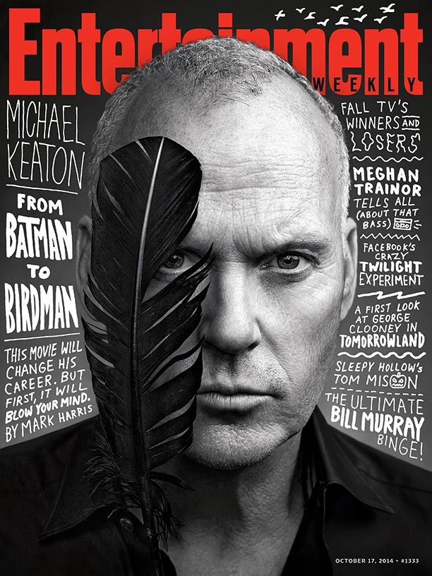 We're diving deep into #Birdman, the film that will change Michael Keaton's career—and blow your mind in the process: http://popwatch.ew.com/2014/10/08/this-weeks-cover-michael-keaton-is-not-birdman/