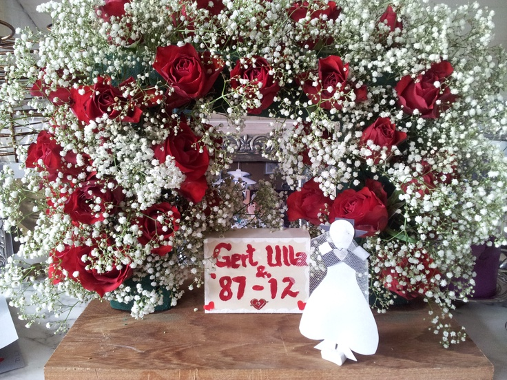 "Mini æresport til sølvbryllup - mini ""gate"" for silver wedding"