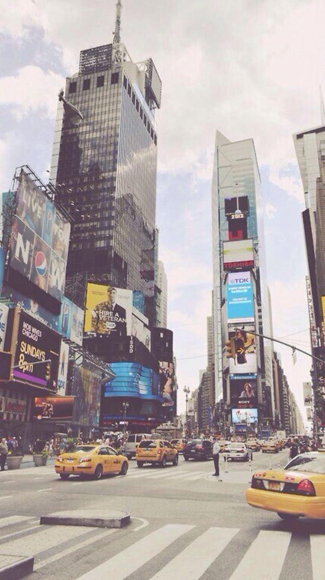 iOS 8 // iPhone Wallpaper // 5 5s 6 6+ // Street // New York // City