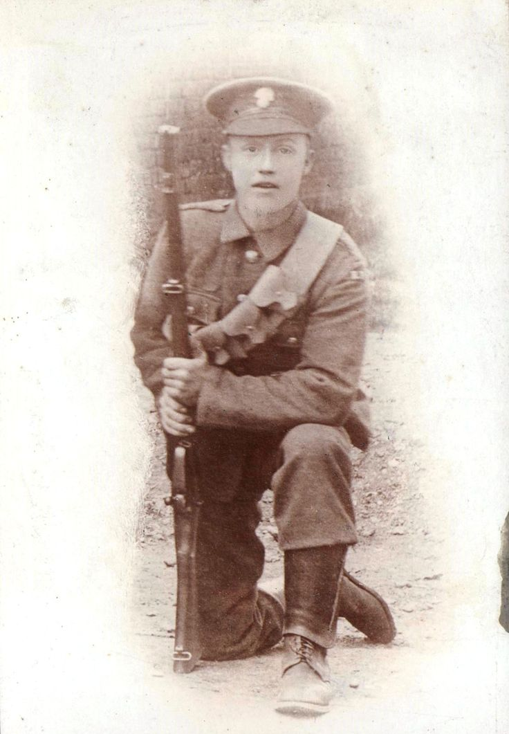 Albert James Chandler of Chalfont St Peter, ready for War August 1914, killed in action 1st November 1914.