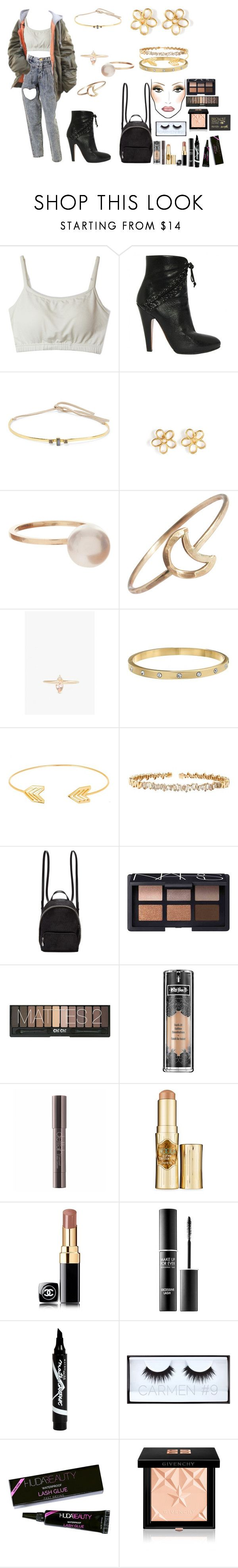 """happy birthday ariana!!"" by femalerebell ❤ liked on Polyvore featuring Alaïa, Cornelia Webb, Marc by Marc Jacobs, Sophie Bille Brahe, Stefanie Sheehan Jewelry, LUMO, Kate Spade, Lord & Taylor, Suzanne Kalan and STELLA McCARTNEY"