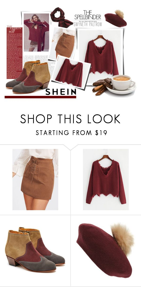 """""""Shein Contest"""" by atikazahra on Polyvore featuring GE, Penelope Chilvers, NYC Underground, Gwyneth Shoes, booties, casualoutfit, sweaterweather, shein and autumn2017"""