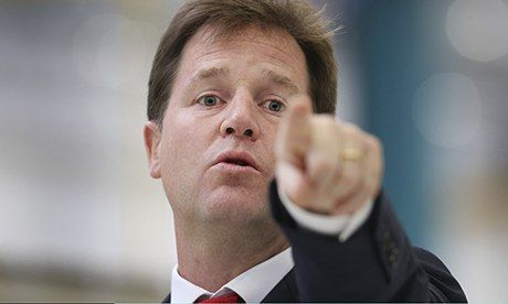Nick Clegg to say he won't allow government U-turn on environment