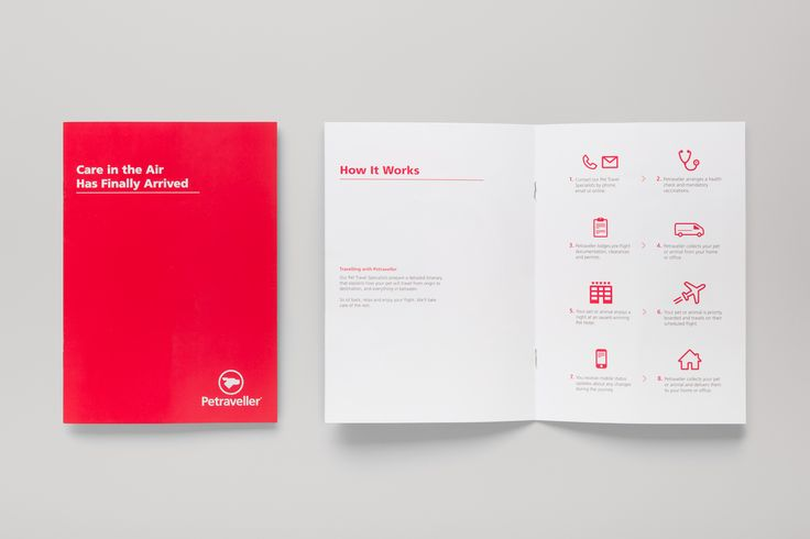Petraveller Brochure Design
