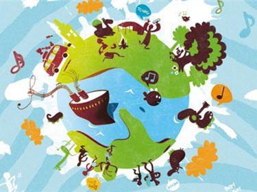 Les 25 meilleures id es de la cat gorie autour du monde for Decoration voyage autour du monde