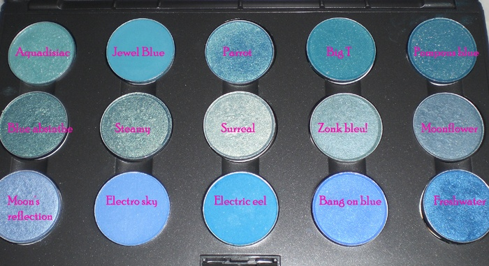MAC Mid Blue Eyeshadow Collection Palette