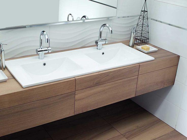 twin sink #bathroom #twinsink #sink #obi #obipolska #newdesign
