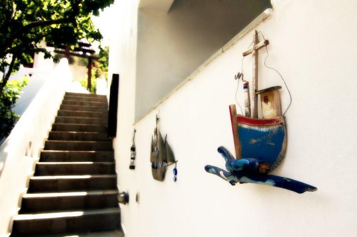 Thalassia Studios Skyros Island Greece - Exterior - Boat decoration